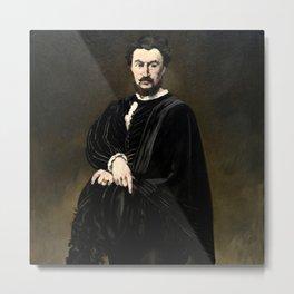 """Édouard Manet """"The Tragic Actor (Rouvière as Hamlet)"""" Metal Print"""