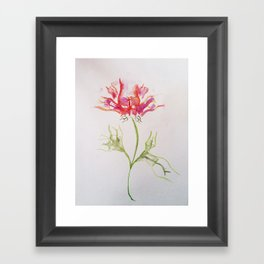 Butt Flowers Framed Art Print