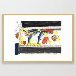 Fish Market Framed Art Print