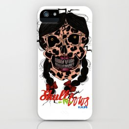 Skull-N-Bows iPhone Case