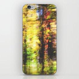 speed of fall iPhone Skin