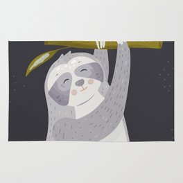 Lazy Day - Sloth Rug