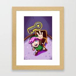 Link's Treasure Framed Art Print