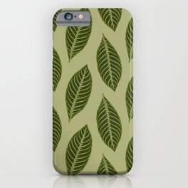ever green foliage iPhone Case