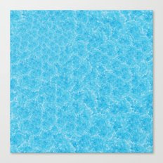 Blue Meth / Happy Sky Canvas Print