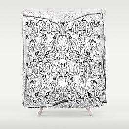 Kamasutra Shower Curtain