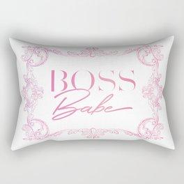 Boss Babe Rectangular Pillow