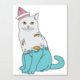 Inside Kitty Canvas Print