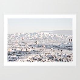 Cappadocia, Turkey #society6 #decor #buyart Art Print