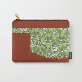 Oklahoma in Flowers Carry-All Pouch