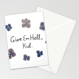 Give Em Hell, Kid Stationery Cards