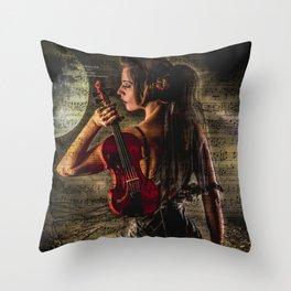Violin 2 Throw Pillow