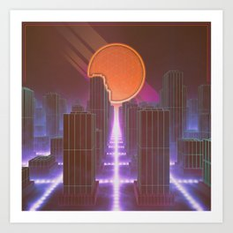 Synthetic Dreams Art Print