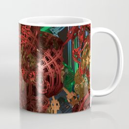 Exoskeleton Rust Coffee Mug