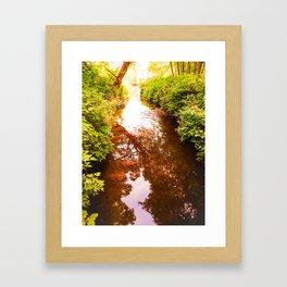 Eagle Creek II Framed Art Print