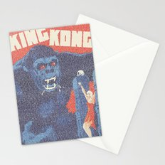 King Kong Script Print Stationery Cards