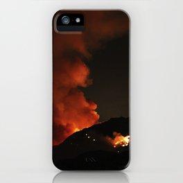 El Diablo Fire iPhone Case