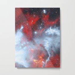 Fire to the Stars Metal Print