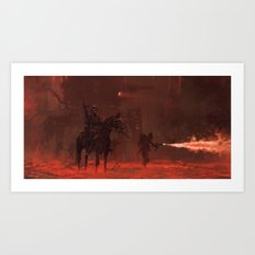 1920 - apocalypse day Art Print