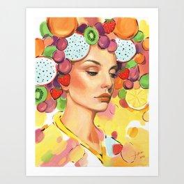 Freshness 3 Art Print