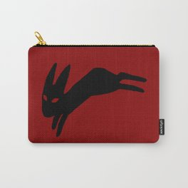Black Rabbit Carry-All Pouch