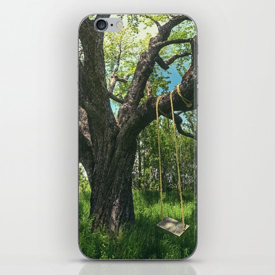 Swing the Summer Away iPhone & iPod Skin