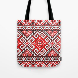 Cross stitch pattern Tote Bag