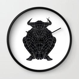 Minotaur / Black version Wall Clock