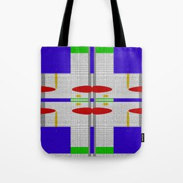 Shades of grey with different colors Tote Bag