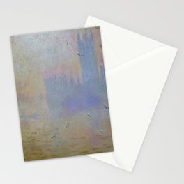 """Claude Monet """"The Houses of Parliament, Seagulls"""", 1903 Stationery Cards"""