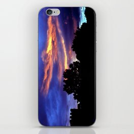 Under A Blood Red Sky iPhone Skin