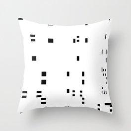 noisy pattern 05 Throw Pillow