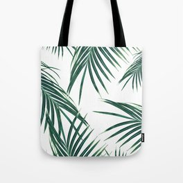 Green Palm Leaves Dream #2 #tropical #decor #art #society6 Tote Bag