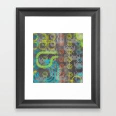 Op Ning A Nu Rave Keyboardist Framed Art Print
