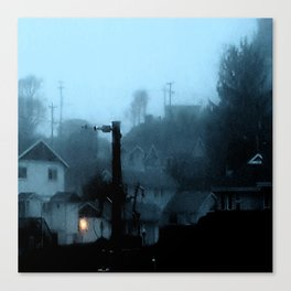 Strange Night: Ghost Light Canvas Print
