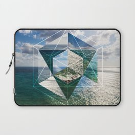 Sacred Geometry Seaview Laptop Sleeve