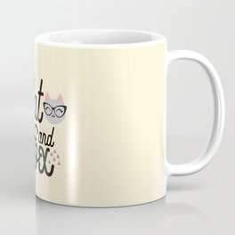 Cat and Fox Coffee Mug