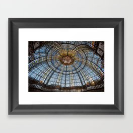 Glass Ceiling Framed Art Print