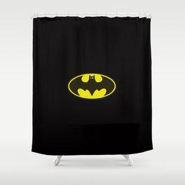 Bat Blønde Shower Curtain
