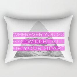All of Your Heart Rectangular Pillow