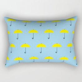 HIMYM Yellow Umbrella Rectangular Pillow
