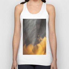 Flames in the Dark (abstract) Unisex Tank Top