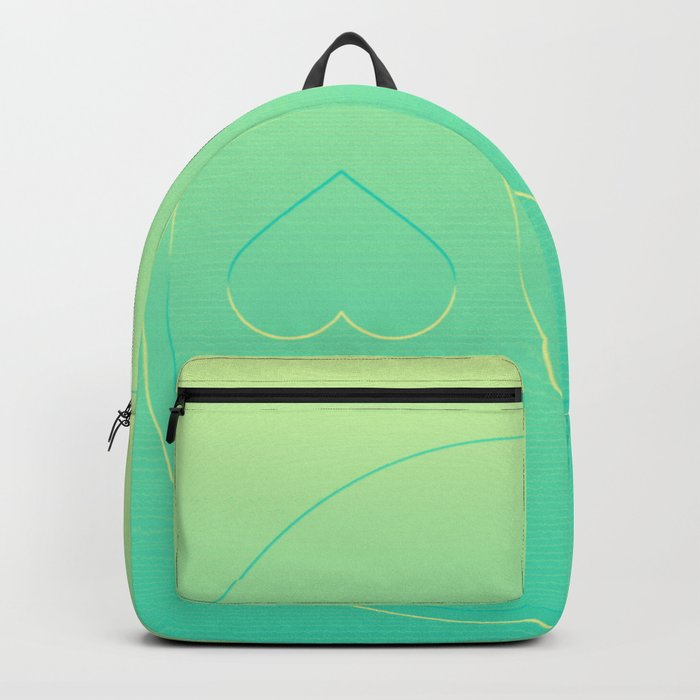Pastel Ying Yang Backpack