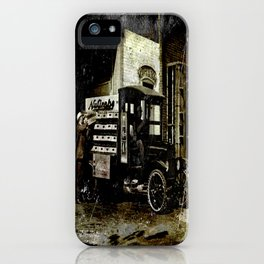 NuGrape Delivery Truck iPhone Case