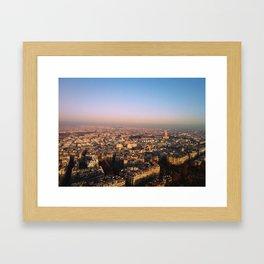 Paris, Mon Amour. Framed Art Print