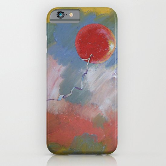 Goodbye Red Balloon iPhone & iPod Case