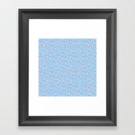 Confetti Shower Framed Art Print
