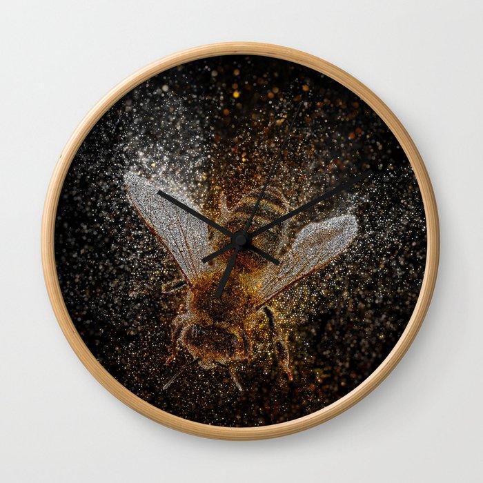 Bees Are Magic Wall Clock