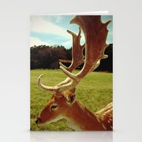 antlers Stationery Cards featuring Antlers by Anna Dykema Photography