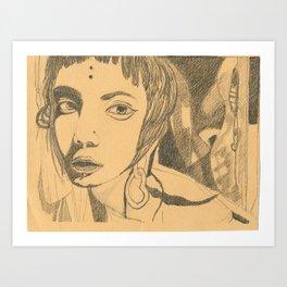 Shades and Shadows Art Print